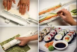 אוהבים סושי ? מעכשיו מכינים לבד עם המכשיר הגאוני להכנת סושי...