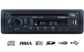 רדיו דיסק בלוטוס עם AUX וכניסת USB של חברת פרימייר !! התקנה...