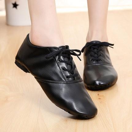 נעלי ג'אז מקצועיות מעור איכותי עם סוליה נוחה ומפוצלת רק ב- ...